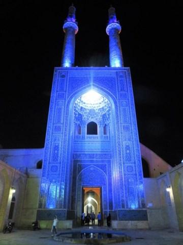 Iran Yazd Mosquée Jameh Vendredi