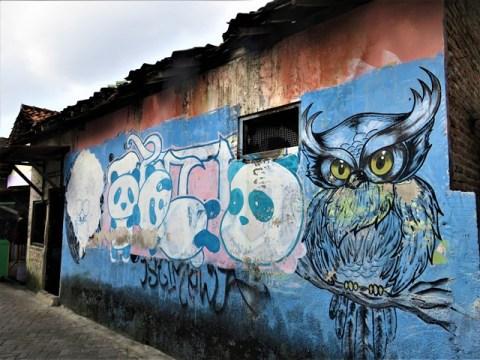 Java Yogyakarta street art
