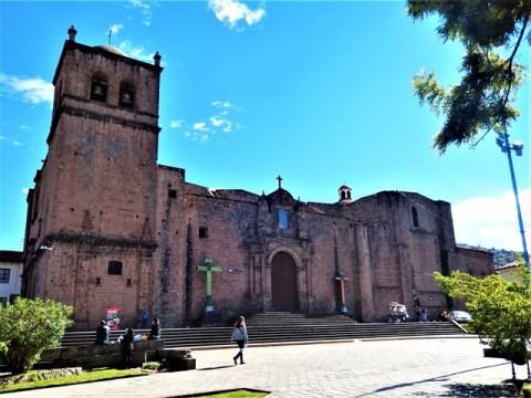 Pérou Cuzco église