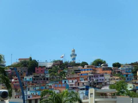 Equateur Guayaquil Barrio Las Peñas