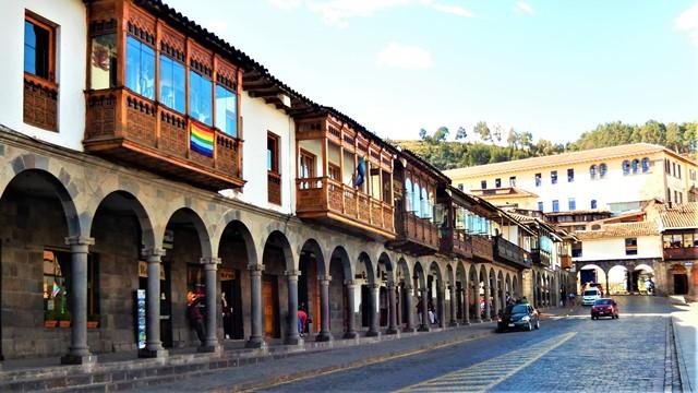 Pérou Cuzco Plaza de Armas