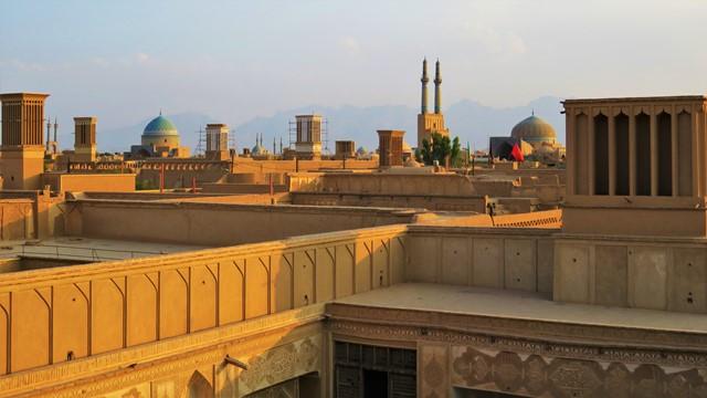 Iran Yazd Café Art House vue