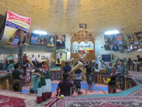 Iran Yazd zurkhaneh sport