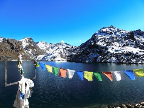 Népal Trek de Gosainkunda trident Shiva