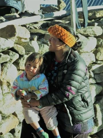 Népal Trek de Gosainkunda village