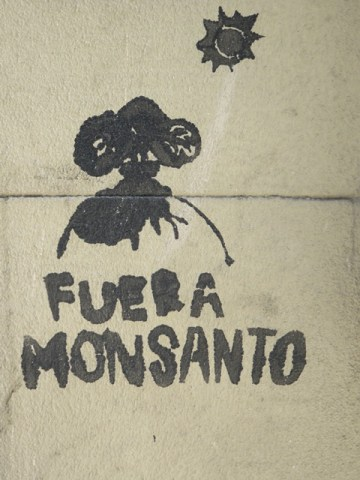 Argentine Buenos Aires Fuera Monsanto