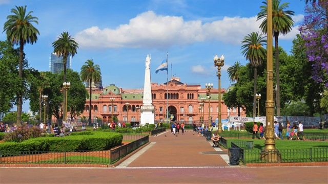 Argentine Buenos Aires Plaza de Mayo