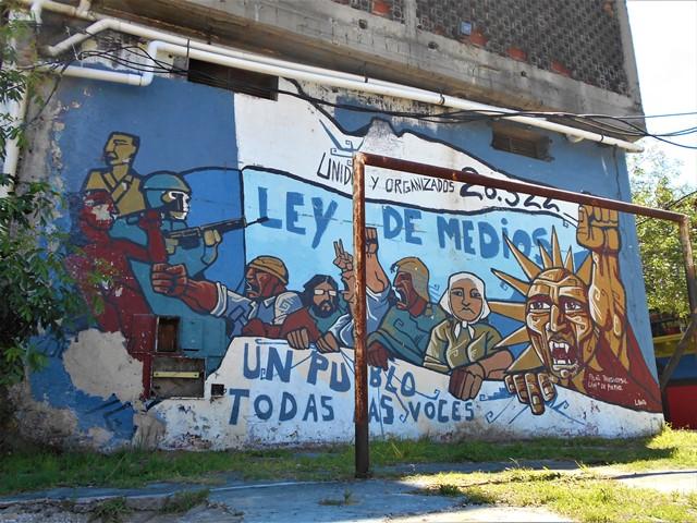 Argentine Buenos Aires Boca ley de medios