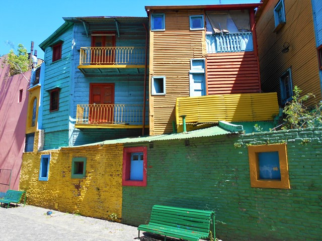 Argentine Buenos Aires Boca Caminito