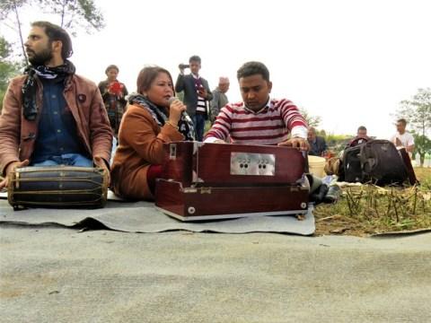 Népal Volontariat Nagarkot puja