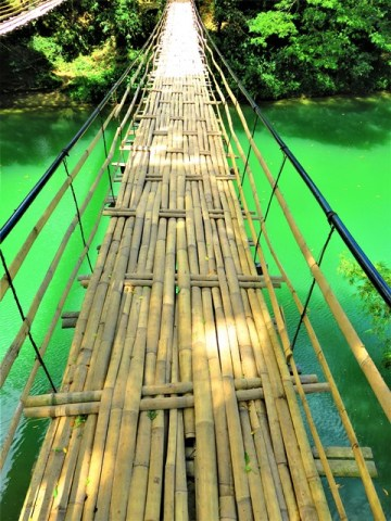 Philippines Bohol Sevilla Hanging Bridge