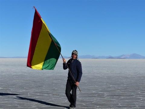 Bolivie Salar de Uyuni Isla Inca Huasi