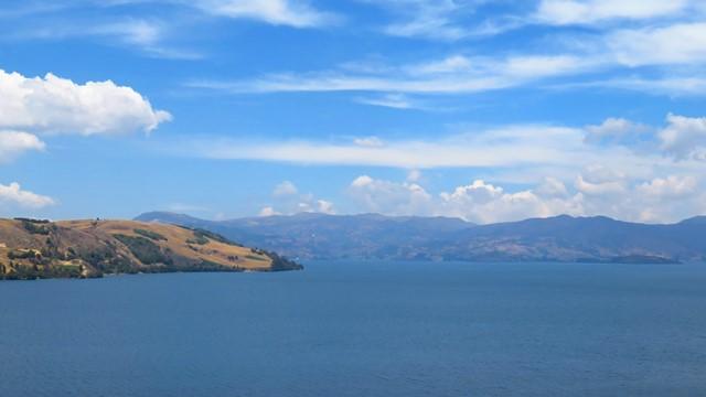 Colombie Lago de Tota