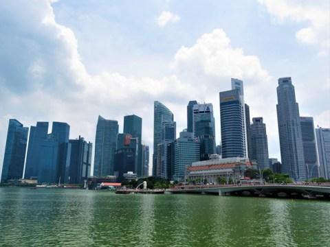 Singapour City center grattes-ciel