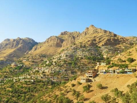 Iran Kurdistan village