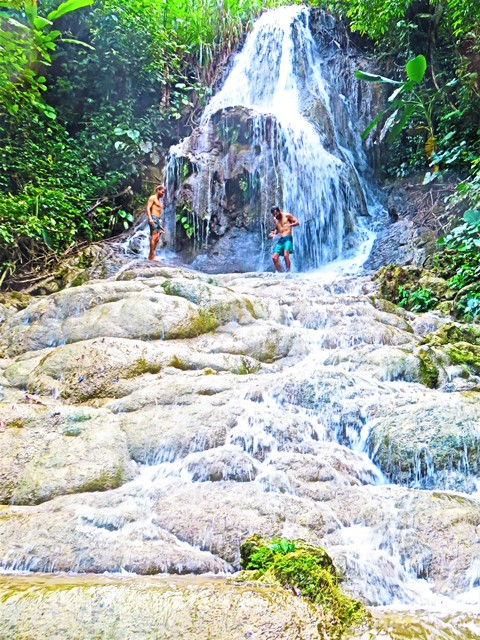 Java Batu Karas Green Valley cascade Jojogan