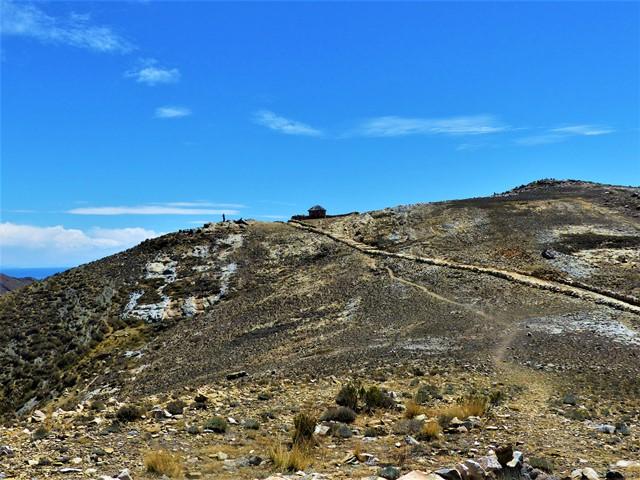 Bolivie Lac Titicaca Isla del Sol chemin des crêtes