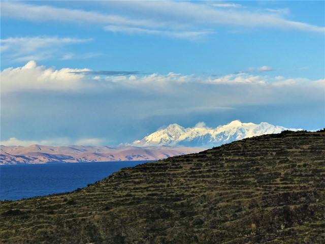Bolivie Lac Titicaca Isla del Sol Cordillère Royale