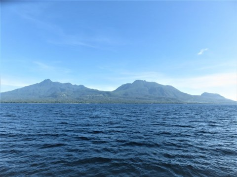 Philippines Camiguin volcan