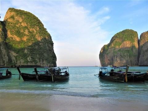 Thaïlande Koh Phi Phi la plage film
