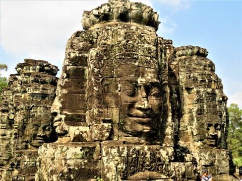 Cambodge Angkor temple Bayon
