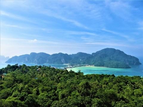 Thaïlande Koh Phi Phi viewpoint