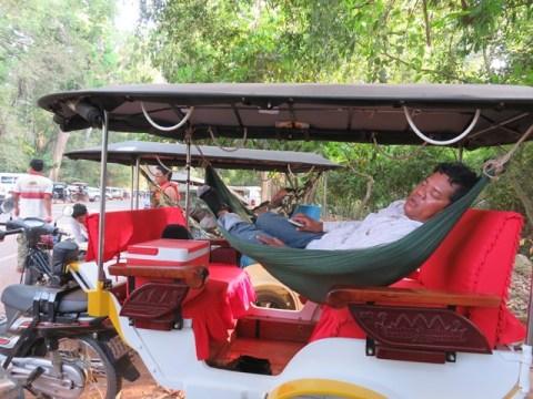 Cambodge Siem Reap tuk-tuk