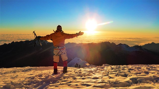 Bolivie Ascension Huayna Potosi