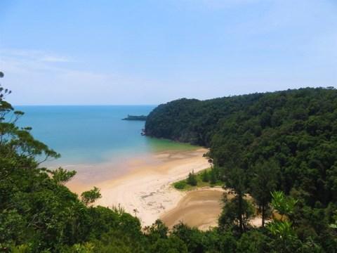Bornéo Parc National de Bako plage