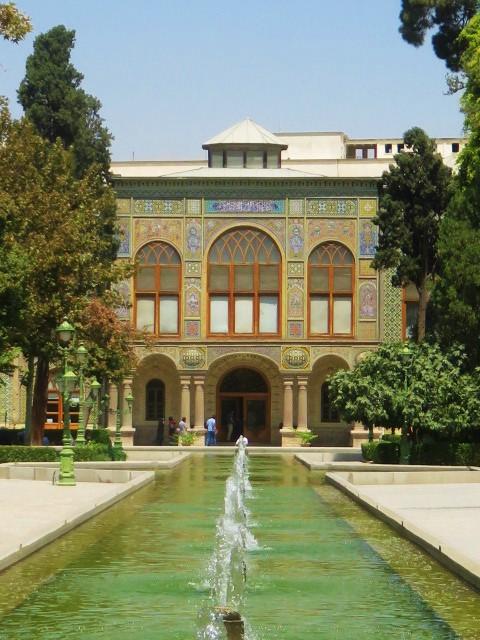 Iran Téhéran Palais