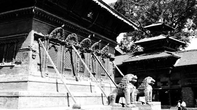 Népal Kathmandu Durbar Square