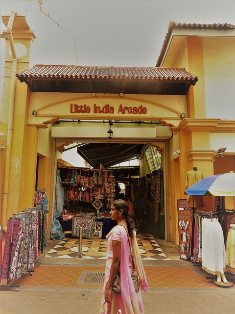 Singapour Little India arcade