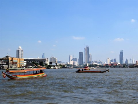 Thaïlande Bangkok canaux