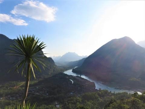 Laos Muang Ngoi viewpoint