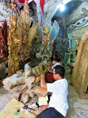 Bali Ubud artisanat