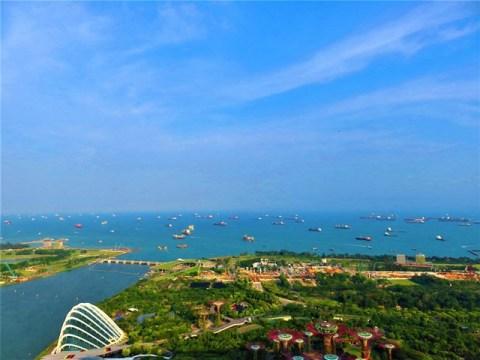 Singapour Marina Bay Sands panorama