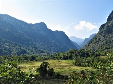 Laos Muang Ngoi randonnée
