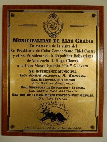 Argentine Alta Gracia Che Guevara