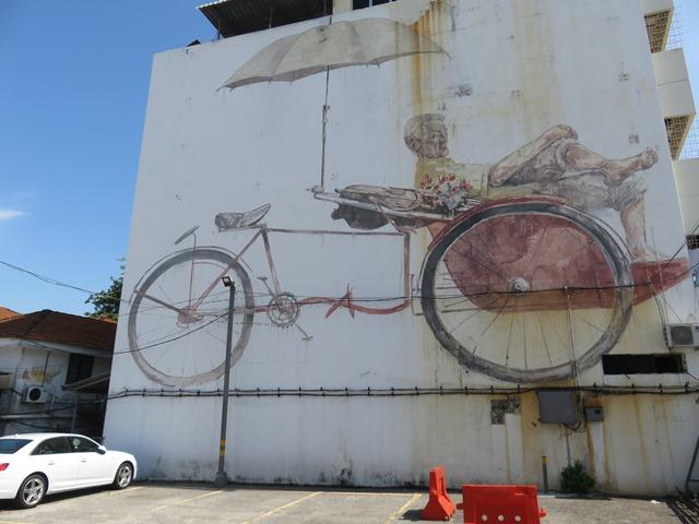 Malaisie George Town street art