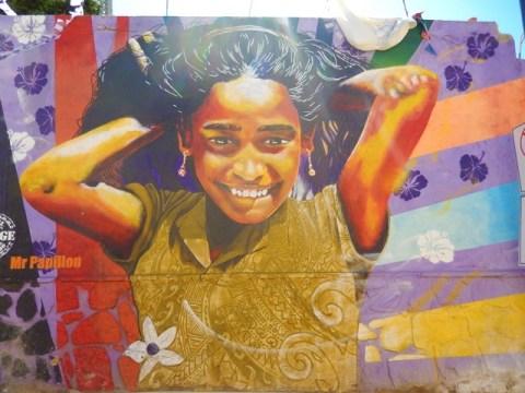 Chili Valparaiso street art