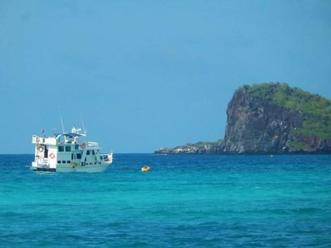 Galapagos ile Espanola baie de Gardner