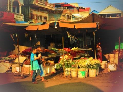 Cambodge ratanakiri banlung marché