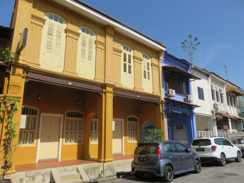 Malaisie George Town shophouse