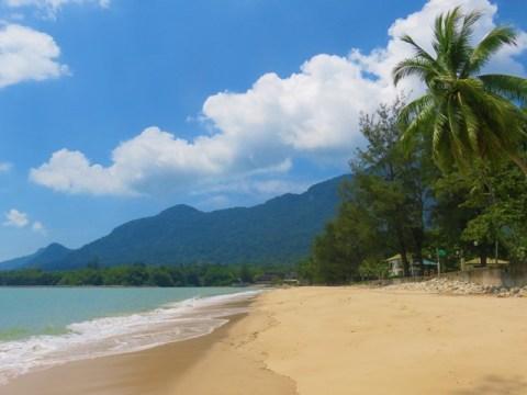 Bornéo Santubong plage