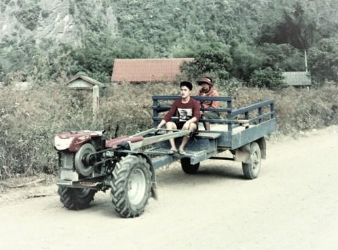 Laos Vang Vieng campagne