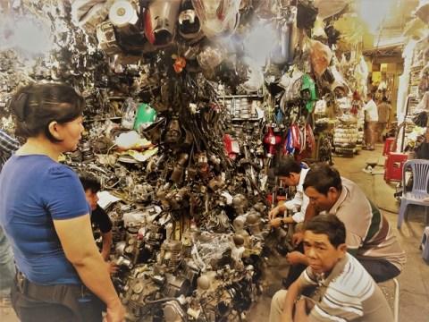 Cambodge Phnom Penh russian market