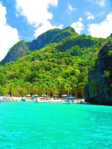 Philippines El Nido baie de Bacuit