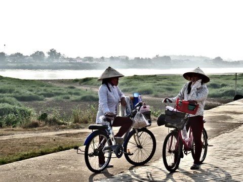 Laos Vientiane bords du Mékong