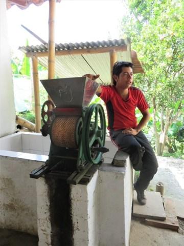 Colombie Salento café finca Don Elias