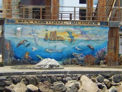 Galapagos ile San Cristobal